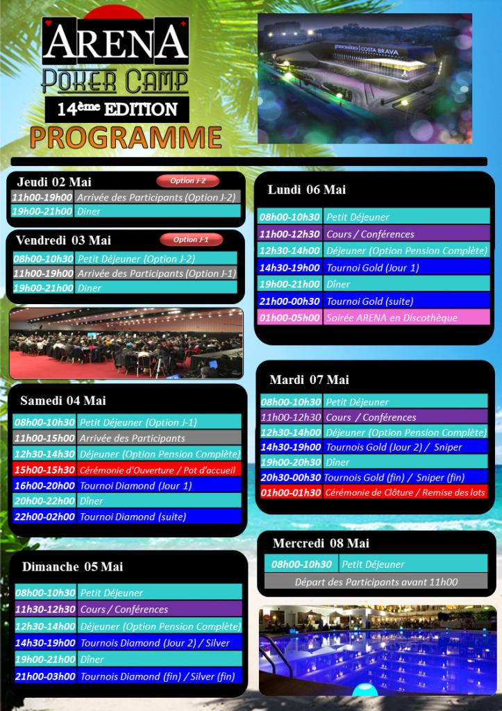 Programme Arena 14