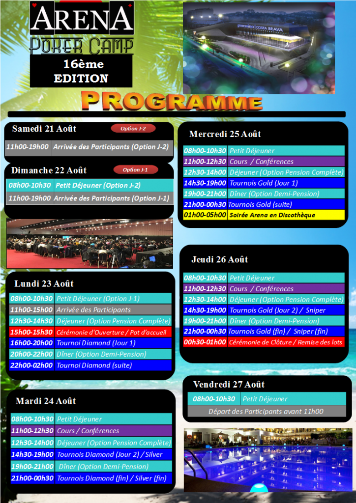 Programme Arena 16