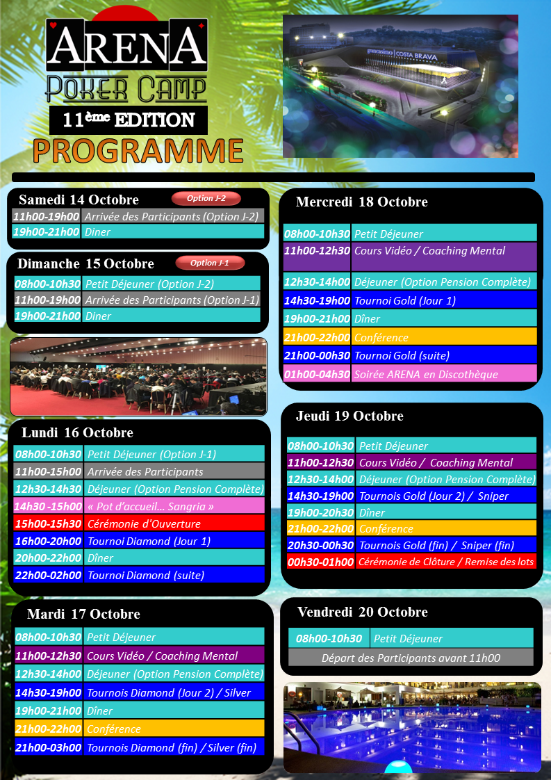 Programme Arena XI