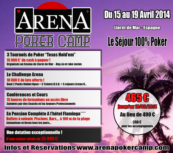 ARENA POKER CAMP IV - AVRIL 2014 ARENA4_AFFICHE_CLUBS