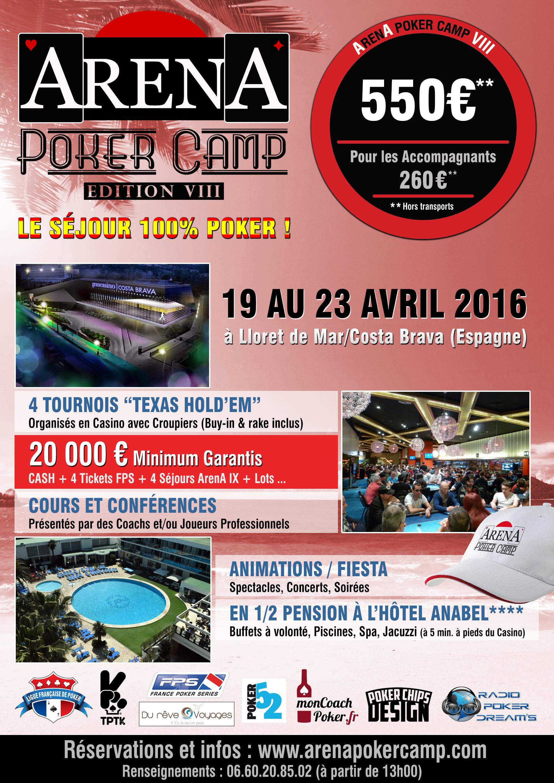 Affiche Arena Poker CAMP VIII-(2)