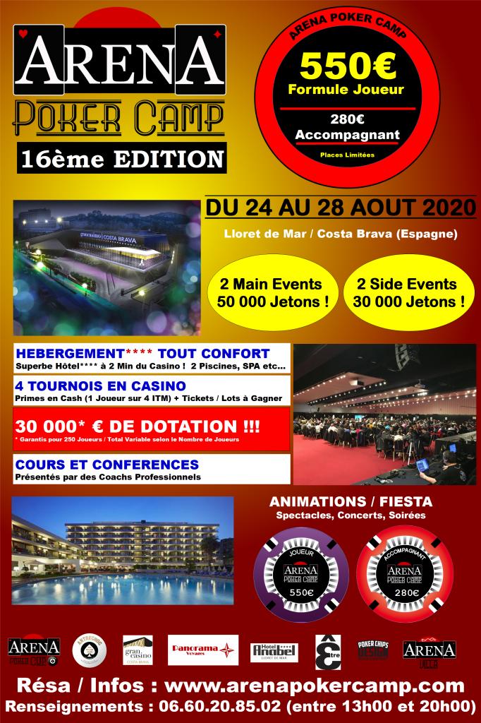 Affiche Officielle Arena 16